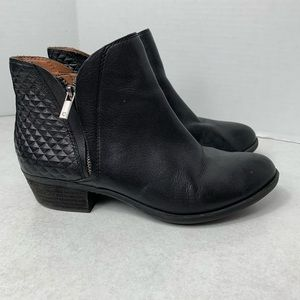 Lucky Brand Short Ankle Booties | Size 9